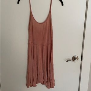 Brandy Melville pink/peach dress